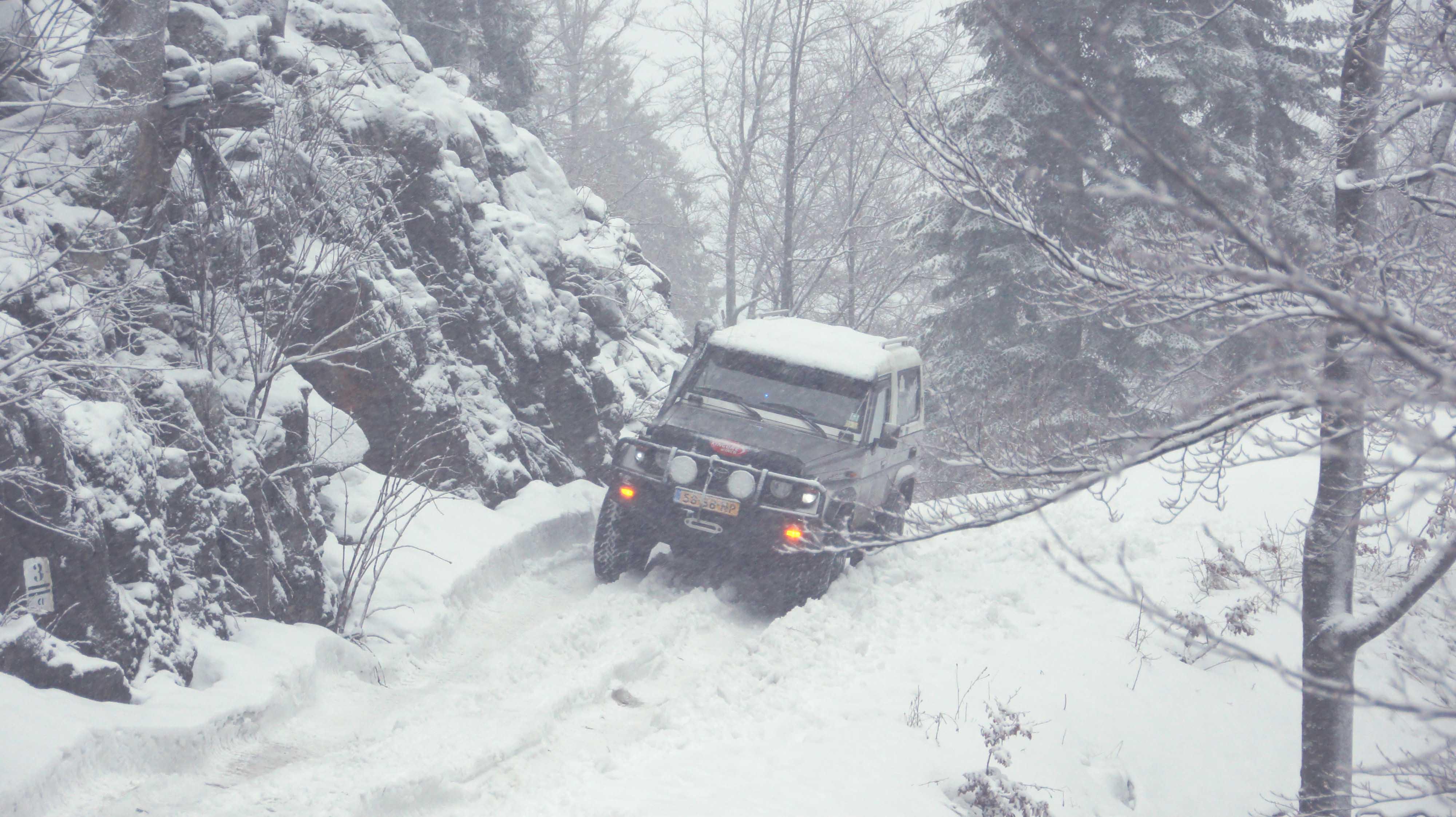 Roemenië Sneeuw